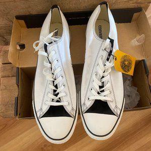 Converse Men's White Low/top CTAS OX Sz 15